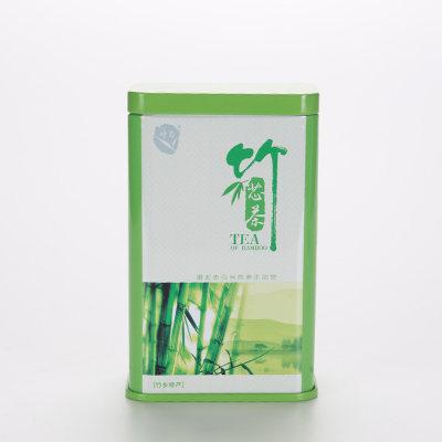 竹芯茶/方罐100g/明前茶 /竹叶 青茶 黑茶/清热火茶/清肝明目/包邮