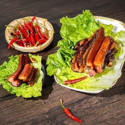 国营单位 广式土猪无皮腊肉400g 湛味食品