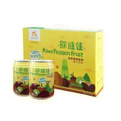 [林海农夫]猕维佳百香果猕猴桃复合果汁零添加剂送礼佳品