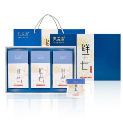 新云荟鲜五七蛹虫草陈皮普洱茶礼盒