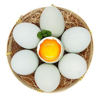五指毛桃鸡蛋30枚(绿壳)