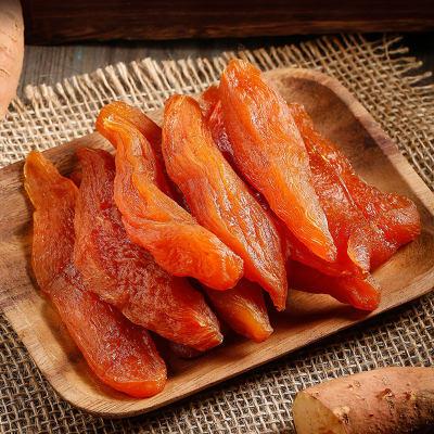 休闲零食 蜜饯果干 小吃 红薯干 黄金地瓜干500g/袋