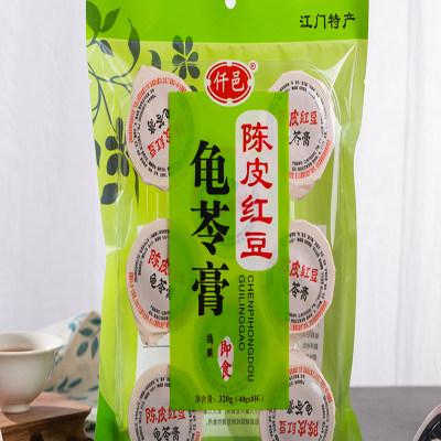 陈皮红豆龟苓膏