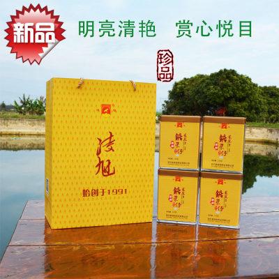 凌旭茶业系列产品单丛茶杏仁香锯朵仔乌岽单枞乌龙茶125克4罐装