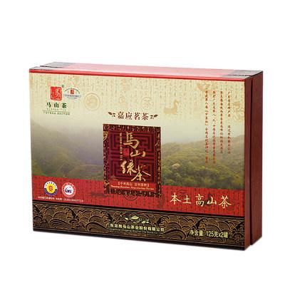 丰顺馆 马山本土高山茶250g/盒