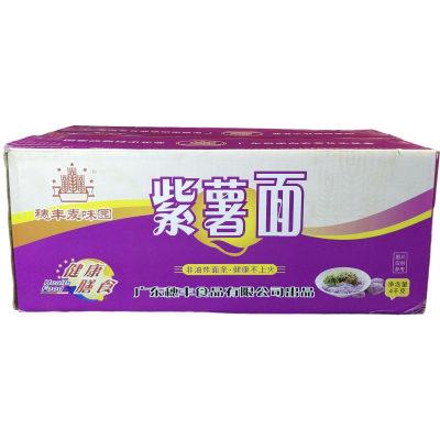 丰顺馆 穗丰紫薯面4kg/箱