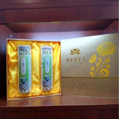 菊花茶礼盒包装 黄金菊花茶礼品 雾水菊100g