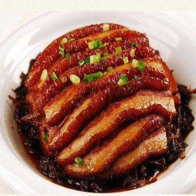 银新 梅菜干 正宗梅菜扣肉配料 客家特产 甜芯梅菜 400g
