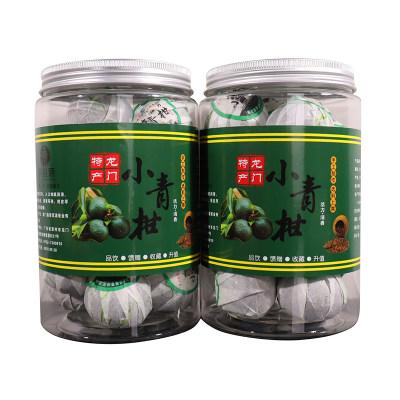 龙门小青柑普洱茶叶200g熟普茶罐装