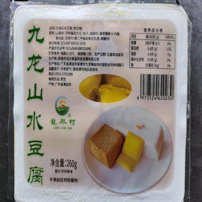 英德九龙镇金鸡村山水黄豆腐260g/盒×8