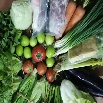 土猪肉排骨蔬菜水果15件套餐 顺丰包邮(限省内)
