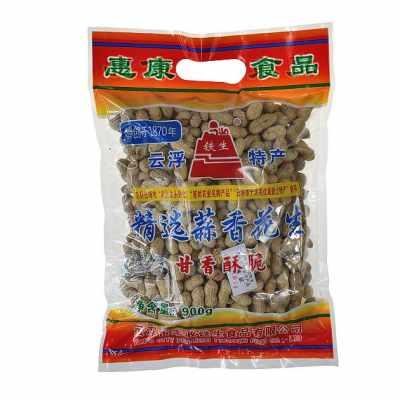 900g蒜香花生果