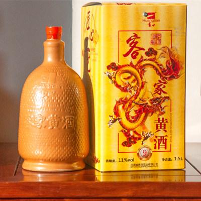 金黄田1级客家黄酒 1.5L/瓶