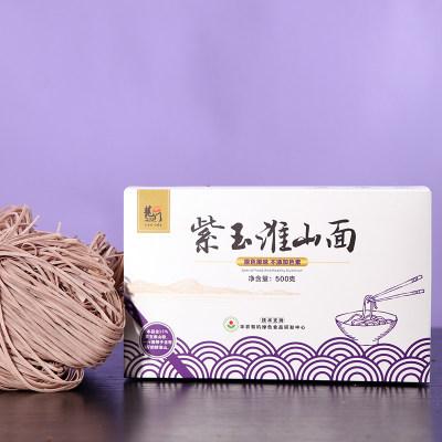 龙门紫玉淮山面营养早餐面速食面